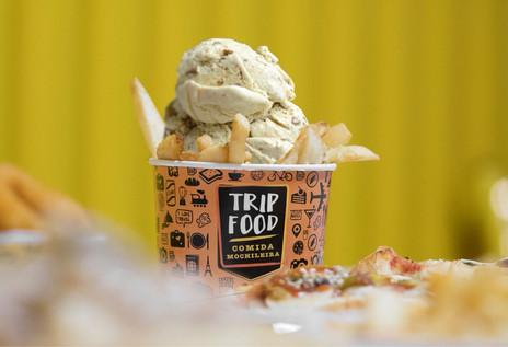 Sucesso em várias partes do mundo, batatas fritas com sorvete serão novidades no Trip Food neste sáb