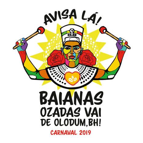 Baianas Ozadas lança tema do carnaval 2019 com festa neste sábado