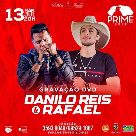 Danilo Reis & Rafael gravam o primeiro DVD da carreira em Betim