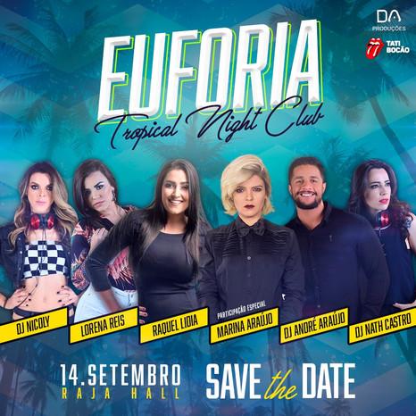 Marina Araújo completa o time de atrações da Euforia: Tropical Night Club