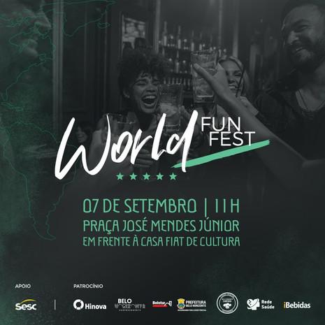 World Fun Fest apresenta o melhor da gastronomia, artesanato e música mundial
