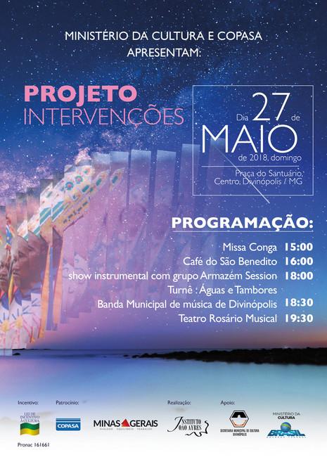 Divinópolis recebe o Projeto Intervenções