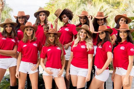 Organização anuncia as 12 finalistas do que concorrem ao título de Rainha do Pedro Leopoldo Rodeio S
