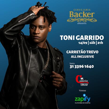 Toni Garrido se apresenta em Contagem
