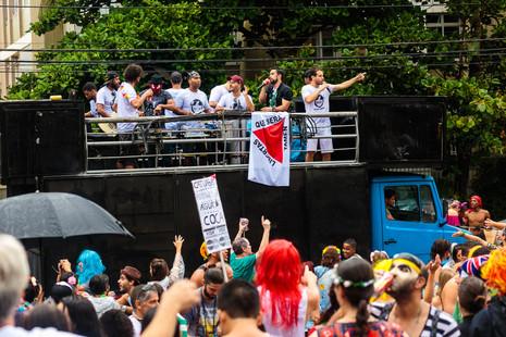 Bloco Pacato Cidadão desfila no domingo de carnaval