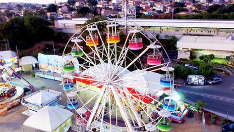 Com brinquedos clássicos, Ita Park oferece cultura e curtição para crianças em BH
