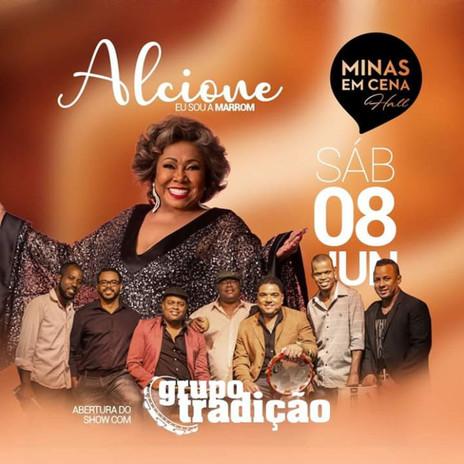 """Alcione apresenta o show """"Eu sou a Marrom"""" neste sábado em BH"""