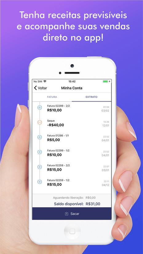 App substitui maquininha de cartão e facilita transações