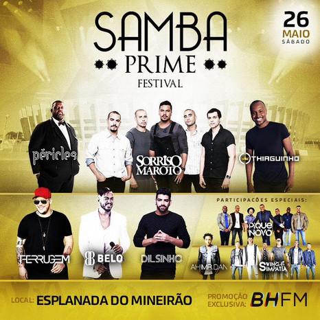SambaPrimeFestival agitará o Mineirão no dia 26 de maio