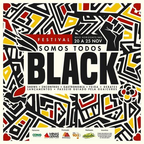 BH sedia o Festival Somos Todos Black no mês da consciência negra