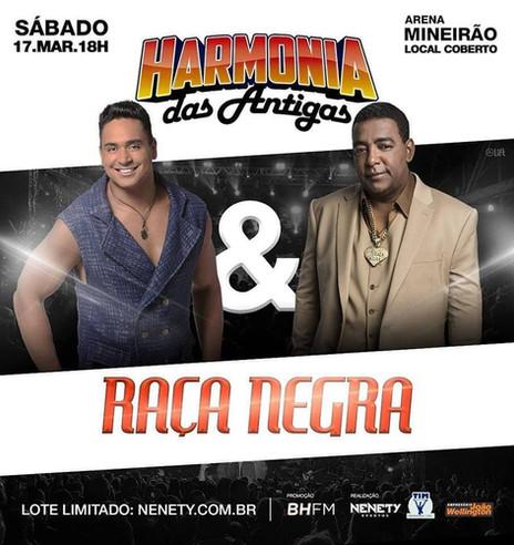 Arena Mineirão recebeRaçaNegrae Harmonia das Antigas