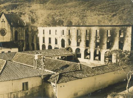 Santuário do Caraça: há 53 anos um incêndio reduziu o local a cinzas