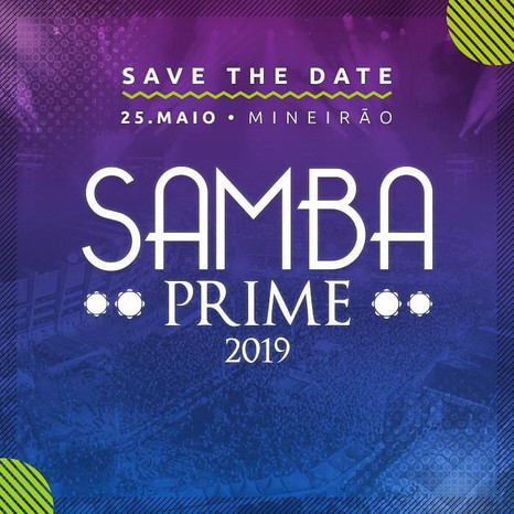 Samba Prime abre votação online para escolha das atrações de sua 8ª edição