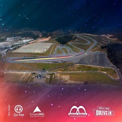 Mega Space receberá a maior tela de cinema a céu aberto do mundo no MEGA CINE DRIVE-IN