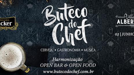 Festival Gastronômico Buteco do Chef apresenta open bar e open food inédito em BH