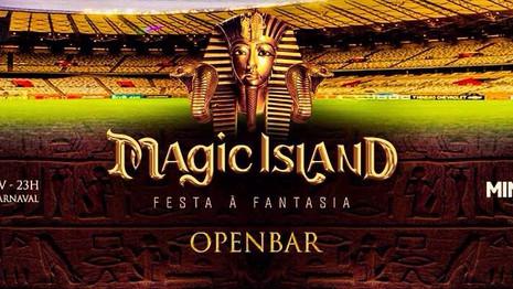 Magic Island, a maior festa a fantasia do Brasil, animará o carnaval de Belo Horizonte