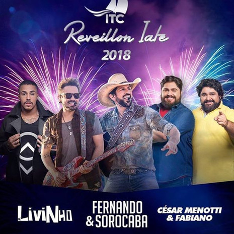 Fernando & Sorocaba, César Menotti & Fabiano,MC Livinhoe Sunga de Pano agitam o Réveillon