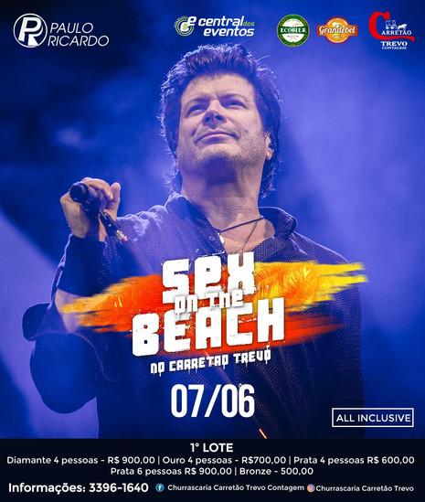 Paulo Ricardo apresenta show da turnê Sex On The Beach em Contagem
