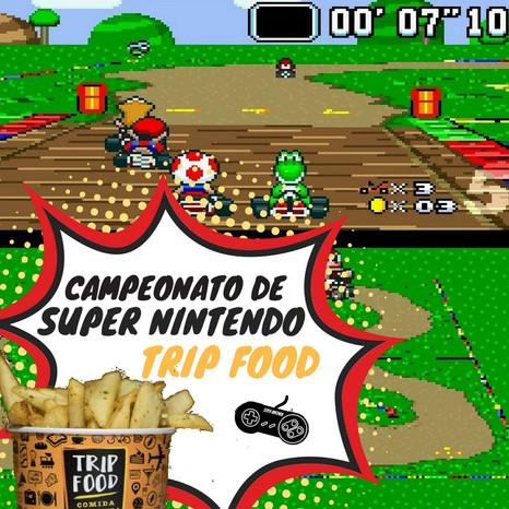 Trip Food – Comida Mochileira realiza campeonato deSuperNintendo