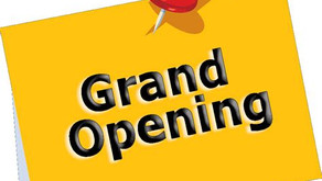 Were Open! & We have a Grand Opening Discount! Sign up before 2020 ends & Save!