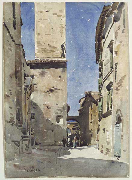 frederic-crowninshield-a-street-perugia-