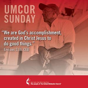 UMCOR Sunday