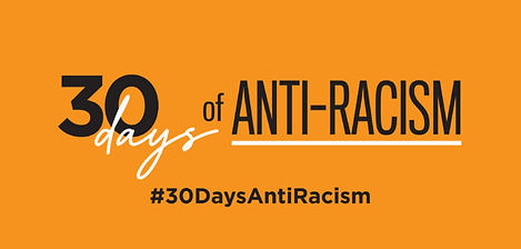 #30DaysAntiRacism