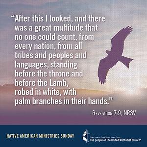 Native American Ministries Sunday