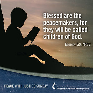 Peace with Justice Sunday