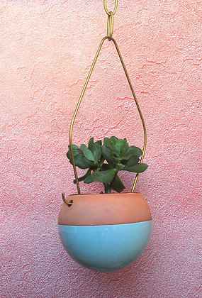 Terracotta Hanging Planter  - S  Ball Shape #mint