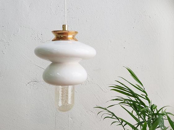 Small Apilar Lamp #White Gold