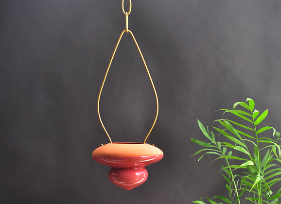 Terracotta Hanging Planter  #S PINK