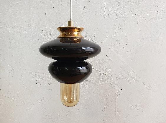 Small Apilar Lamp #Black Gold
