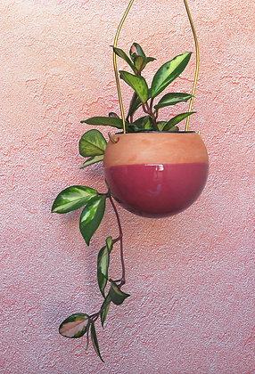 Terracotta Hanging Planter  -S  Ball Shape