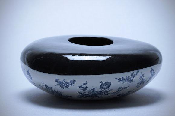 Dark Low Vase