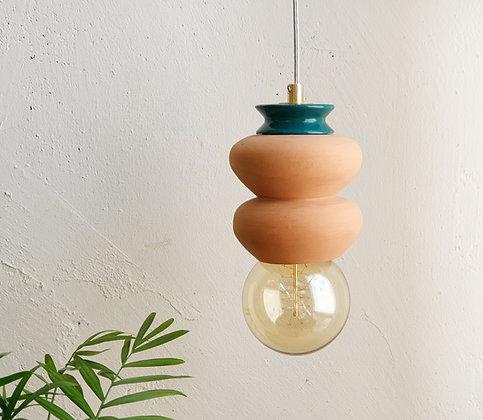Small Terracotta Lamp