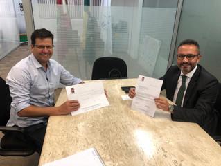 Visita ao Secretário de Articulação Internacional de Santa Catarina