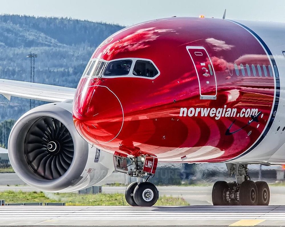Norwegian Airlines, voos low cost