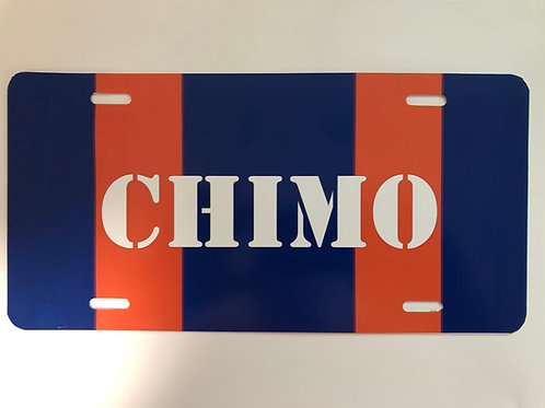 CHIMO License Plates
