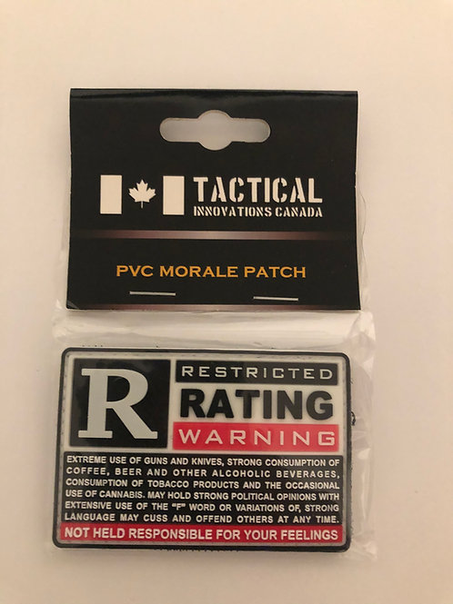 TIC R-Rating Patch