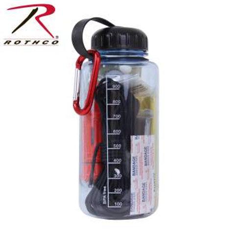 Rothco Water Bottle / Survival Kit