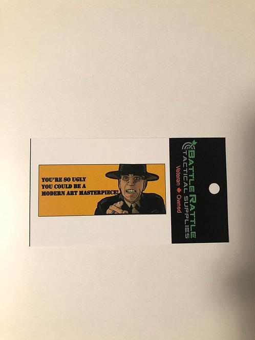 Gunnary Sgt Hartman Sticker