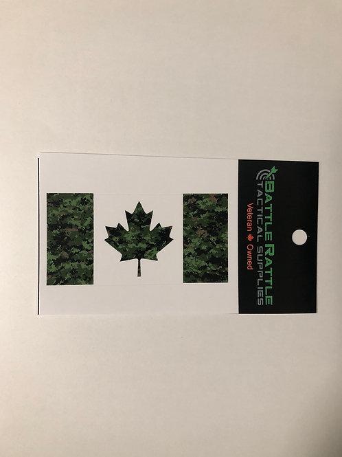 Canadian Digital Canada Flag Sticker