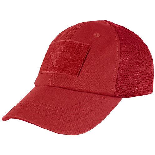 Condor Tactical Adjustable Mesh Cap Red