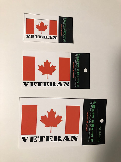 Canadian Veteran Sticker
