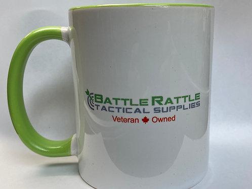 Battle Rattle Fake it Mug