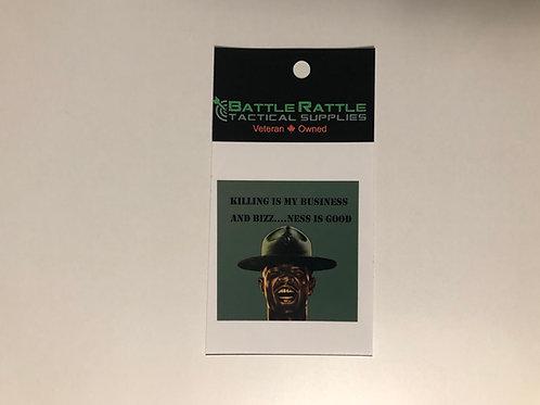 Killing is my Business Sticker