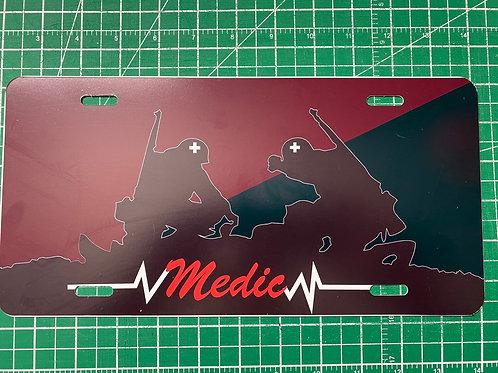 Medic License Plate