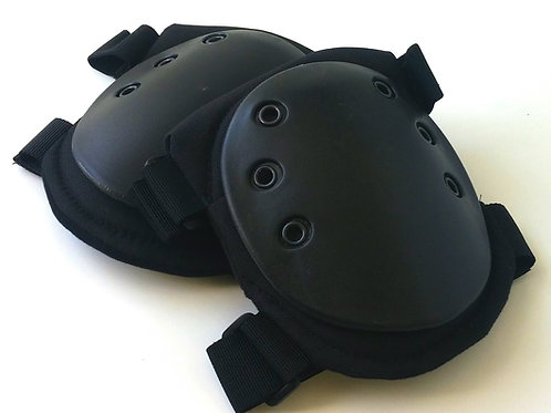 Black Tactical Knee Pads