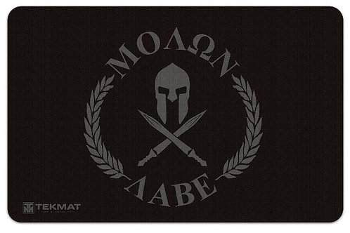 "Tactical Innovations Molon Labe ""Come and take them"" Pistol Cleaning Mat"